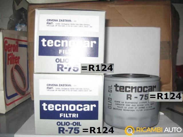 FILTRI OLIO TECNOCAR R-75 (Sostituito da R124