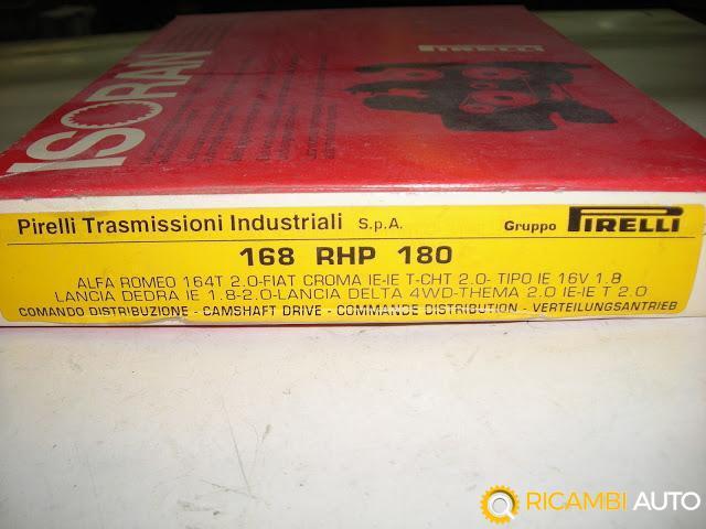 Cinghie di distribuzione pirelli dayco cod.168 RHP 180 Alfa 164 -CROMA Delta DEDRA THEMA ecc