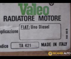 RADIATORE MOTORE VALEO TA 421 Per FIAT UNO Diesel